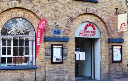 Welcoming entrance to Havering Museum on the High Street