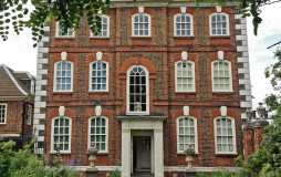 The majestic facade of Rainham Hall in Havering
