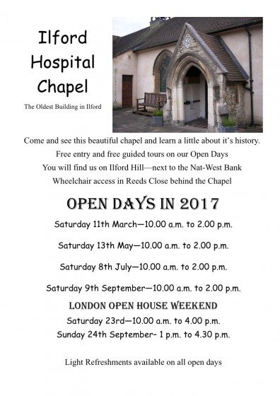 Chapel Open days 2017-1