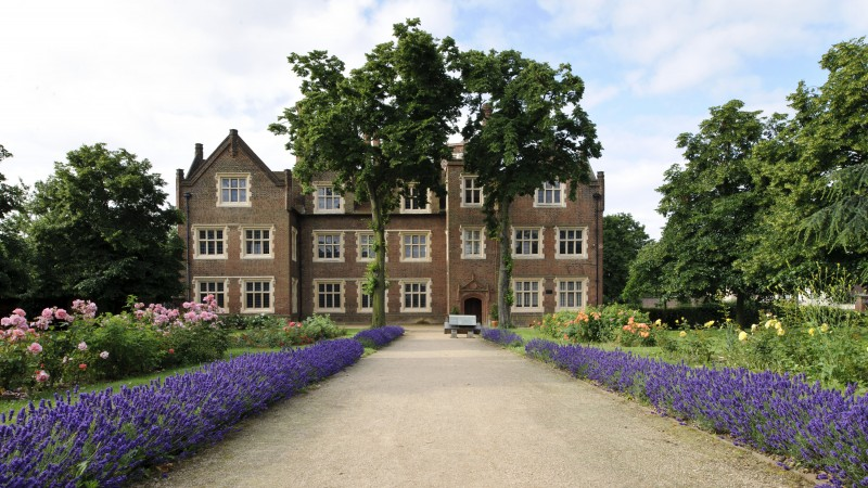 Eastbury Manor House front