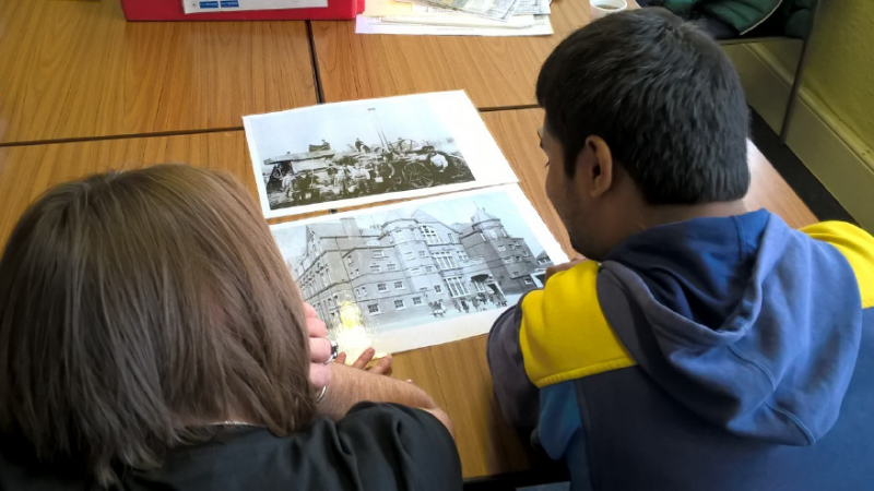 Havering Museum how to fund a heritage project